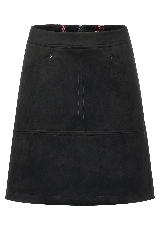 A-shape L52 velours skirt
