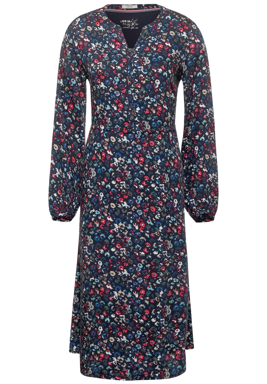 AOP flower long Dress