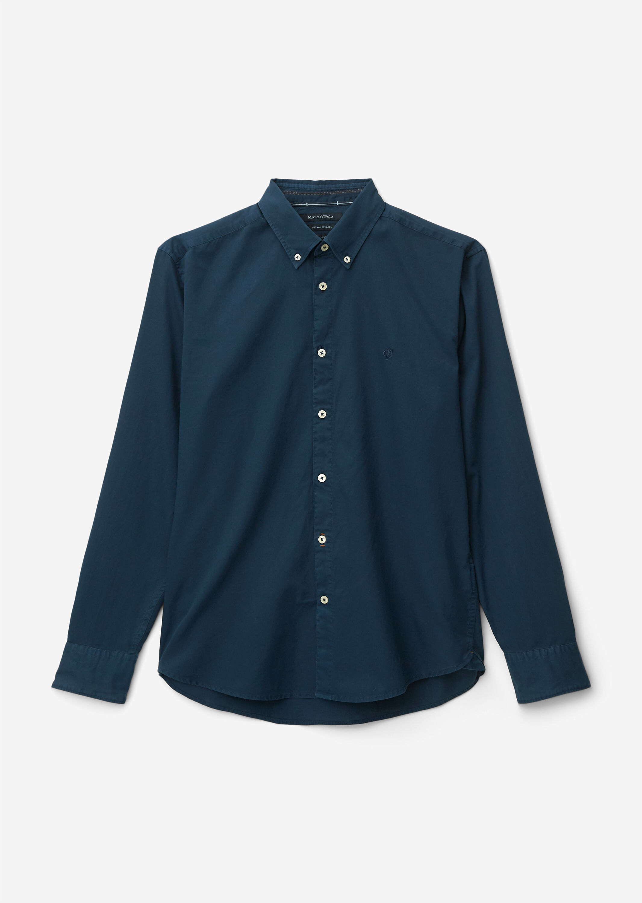 Button down, long sleeve, inserted