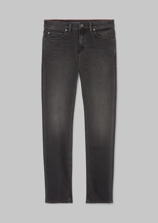 Denim, 5-pocket, slim fit, low wais