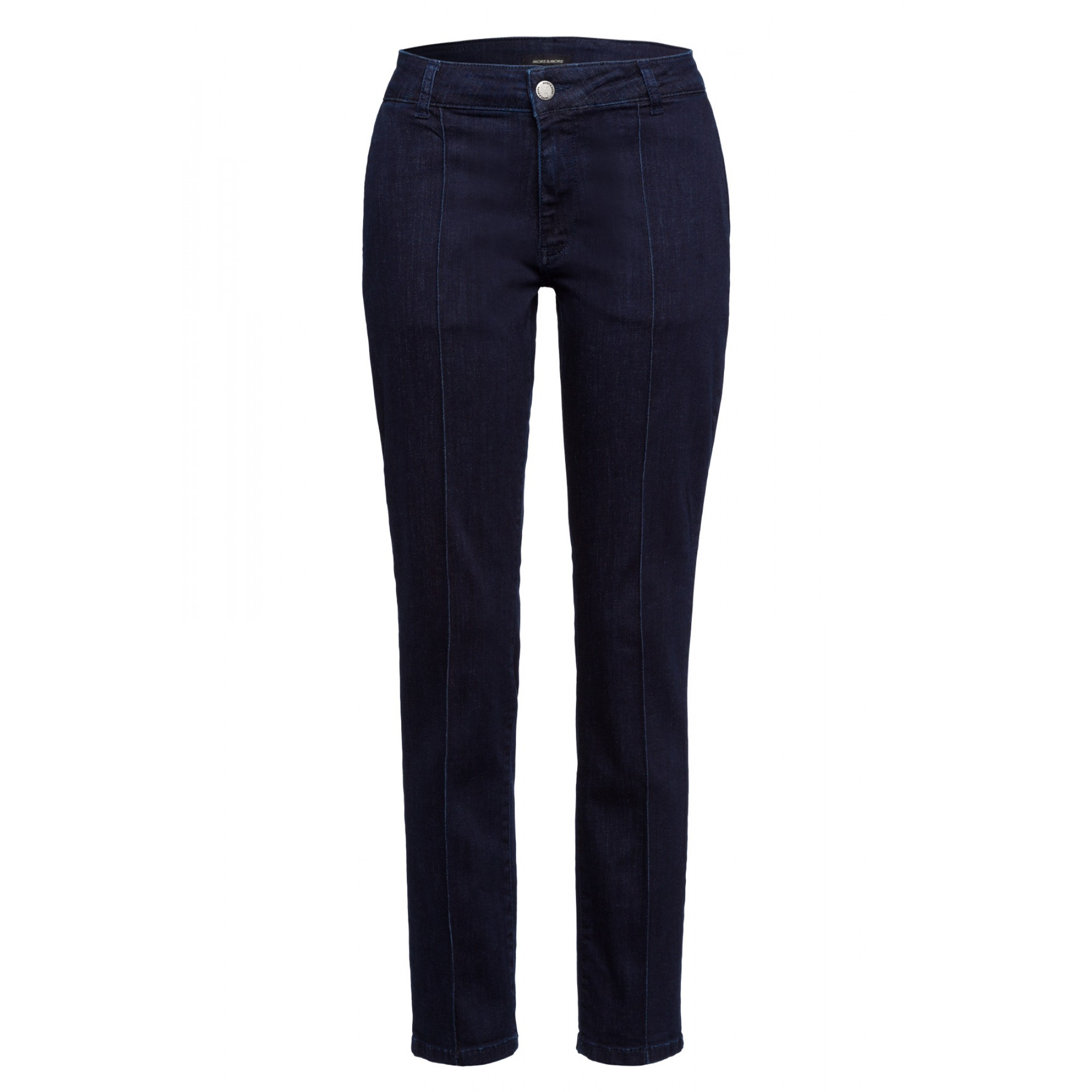 Dark Blue Jeans with Pin Tuck Activ