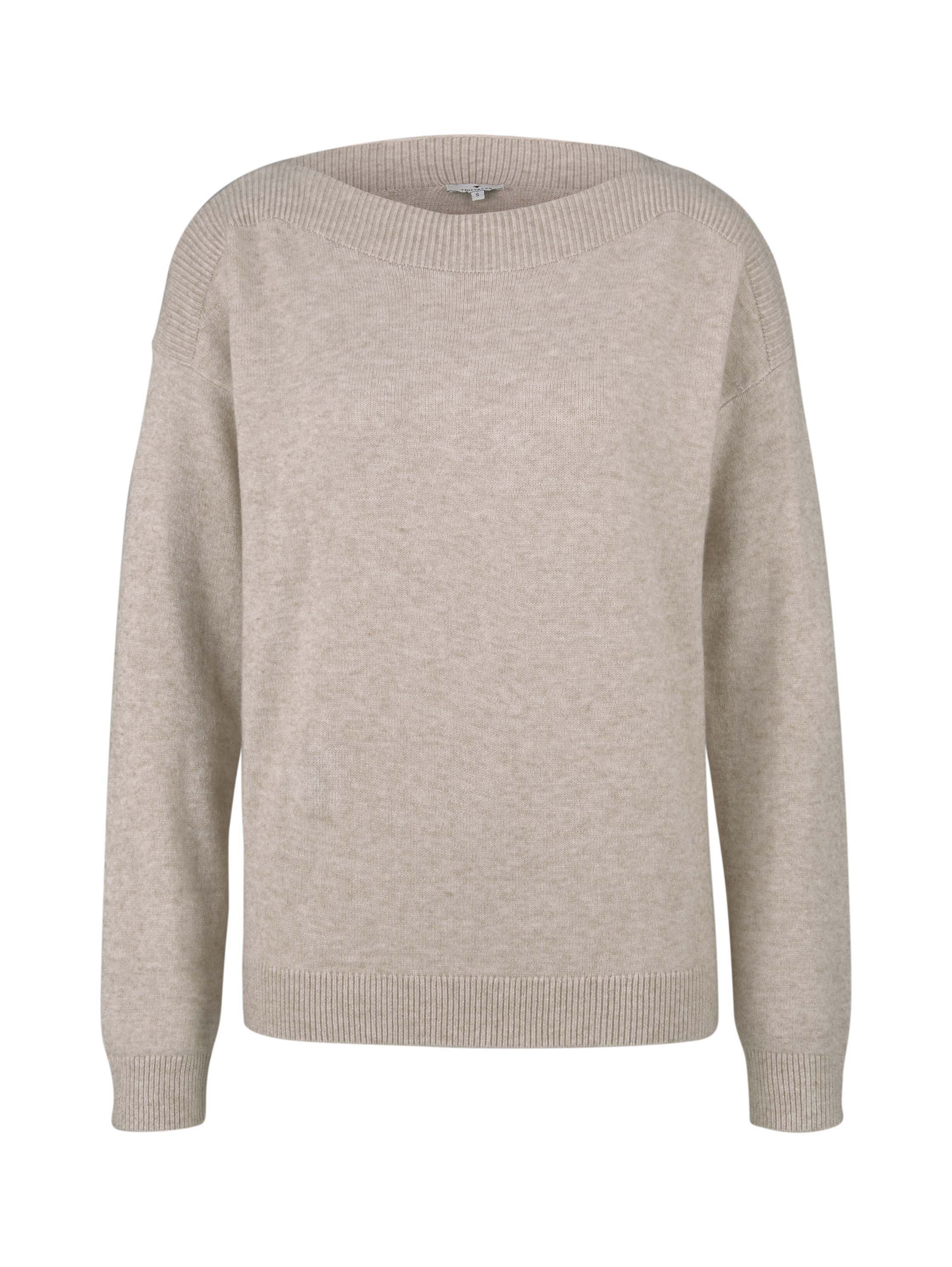 boatneck pullover