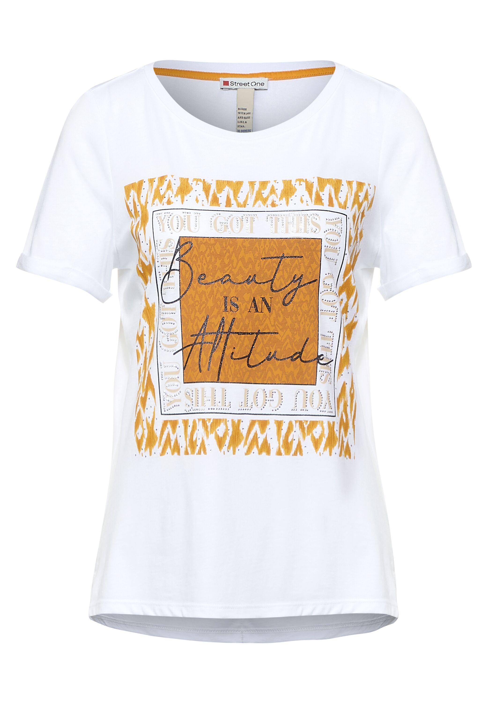 box partprint shirt