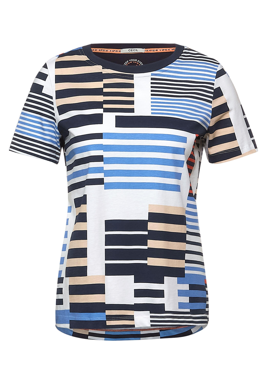 AOP Stripe T-Shirt