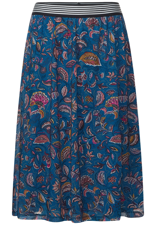EOS_Mesh Skirt Paisley