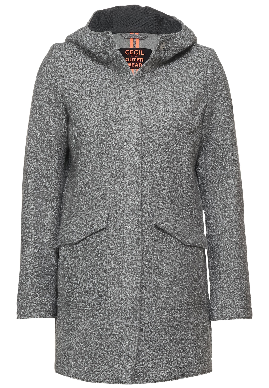 Curly Fake Wool Coat