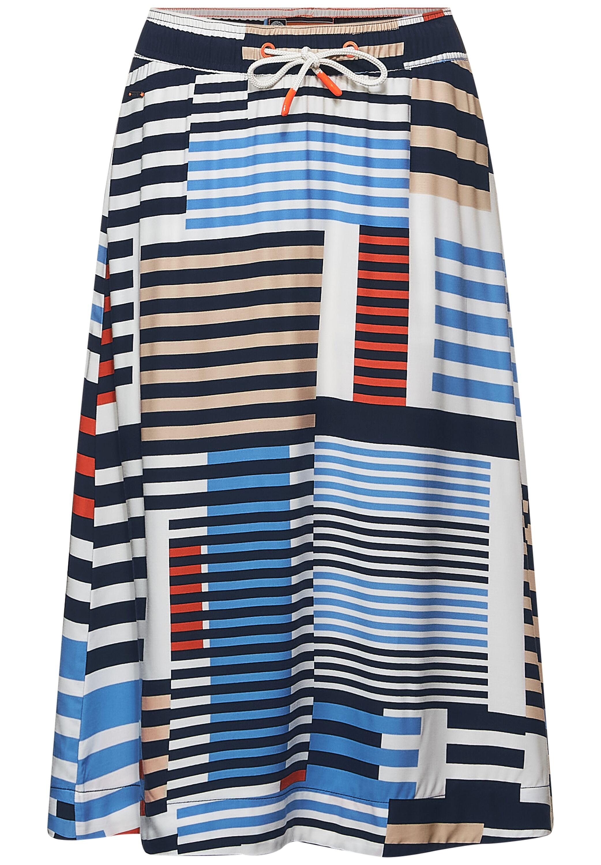 Midi Skirt AOP