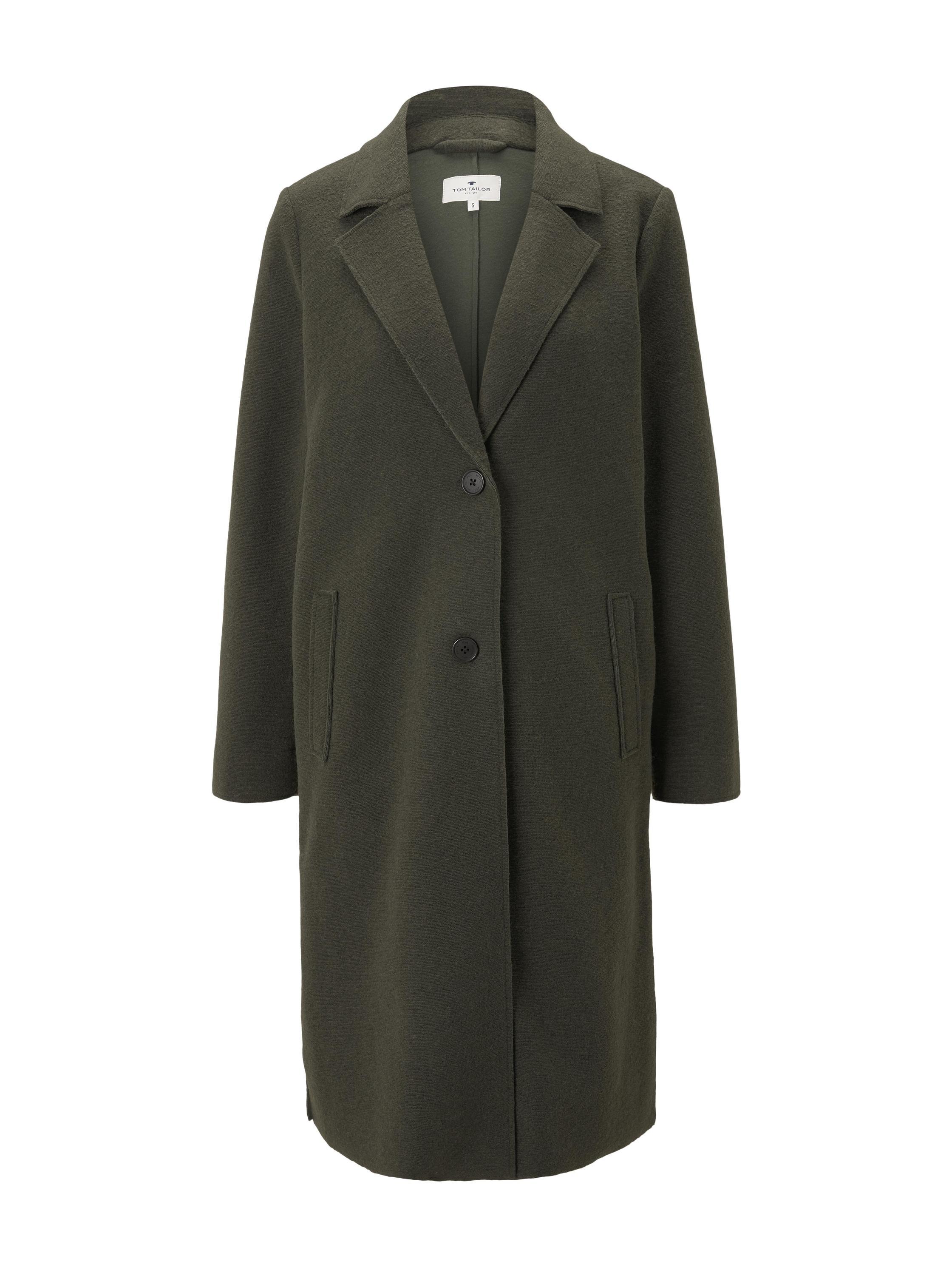 casual long coat